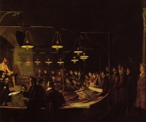 Giovanni Battista Biscarra, La scuola del nudo dell'Accademia di Belle Arti, 1845. © Fondazione Torino Musei - Archivio Fotografico