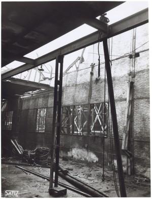 Corso Mortara 7. FIAT - Sezione Ferriere Piemontesi. Effetti prodotti dal bombardamento dell'incursione aerea del 20-21 novembre 1942. UPA 2065_9B05-37. © Archivio Storico della Città di Torino