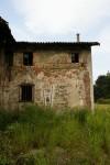 Dettaglio dell'avancorpo settentrionale della cascina Cabianca. Fotografia di Edoardo Vigo, 2012.