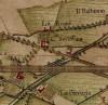 Cascina Casa Gilardoni Sondrio.Carta Topografica della Caccia, 1760-1766 circa, ©Archivio di Stato di Torino