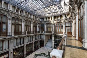 Pietro Carrera, Galleria Subalpina (piano superiore, dettaglio), 1874. Fotografia di Mattia Boero, 2010. © MuseoTorino.