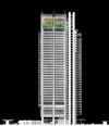 Il Grattacielo Intesa Sanpaolo progettato da Renzo Piano Building Workshop. © Renzo Piano Building Workshop