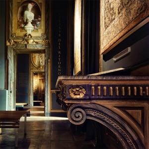 Palazzo Provana di Collegno, particolare piano nobile. Fotografia di Brigitte Schindler, 2020.