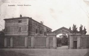 Castello di Lucento, Istituto Professionale Bonafous, Cartolina dei primi del Novecento, Collezione privata