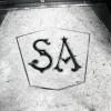 ex Acchitto, video-stereo; ex Angelo Sciamengo, pasticceria, particolare della soglia, 1998 © Regione Piemonte