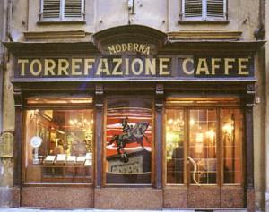 Moderna Torrefazione Caffè, esterno, Fotografia di Marco Corongi, 2001 ©Politecnico di Torino