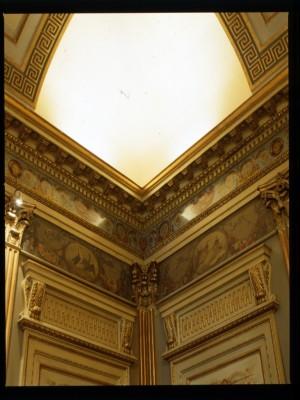 Caffè San Carlo, particolare sala principale, 1998 © Regione Piemonte