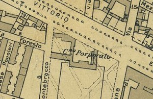 Cascina Porporata. Pianta di Torino, 1935. © Archivio Storico della Città di Torino