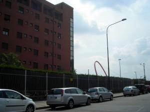 Caserma Pictet. Parte della caserma. Fotografia di Silvia Bertelli, 2010.