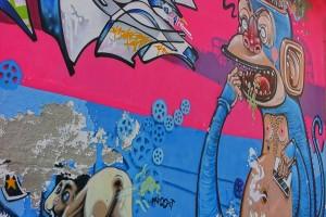 MKE, Blef, Mr. Thoms, murale senza titolo, 2010, via Dall'Ongaro