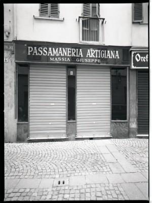 Passamaneria Artigiana Massia Giuseppe, esterno, 1998 © Regione Piemonte