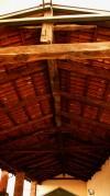 Particolare della copertura della cascina Morozzo. Fotografia di Edoardo Vigo, 2012.