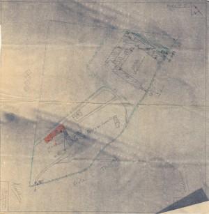 Bombardamenti aerei. Censimento edifici danneggiati o distrutti. ASCT Fondo danni di guerra inv. 2533 cart. 52 fasc. 3 foglio n. 2. © Archivio Storico della Città di Torino