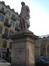 Giovanni Albertoni, Monumento a Giuseppe Luigi Lagrange, 1867. Fotografia di Alessandro Vivanti. © MuseoTorino.
