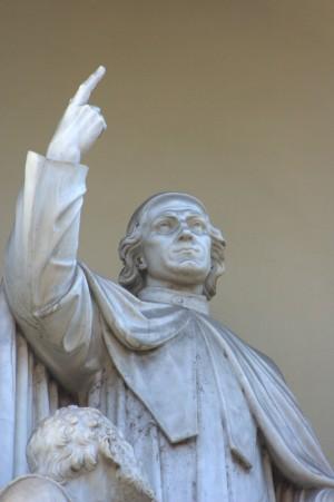 Angelo Bruneri, Monumento a Giuseppe Benedetto Cottolengo, 1848. Fotografia di Giuseppe Caiafa, 2011.