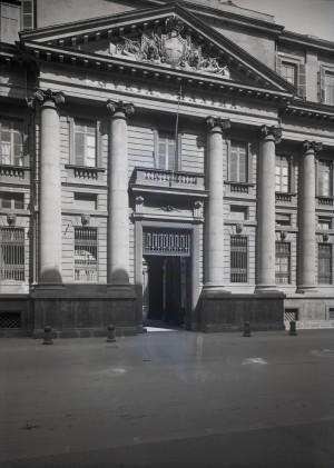 Palazzo dei Supremi magistrati, facciata. Fotografia di E. Olivero. © Fondazione Torino Musei - Archivio fotografico