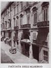 Albergo della Dogana Vecchia, facciata. Fotografia 1927-1930. © Archivio Storico della Città di Torino