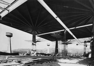 Cantiere Palazzo del Lavoro, 1960© Archivio Storico della Città di Torino (NAF 01_060)
