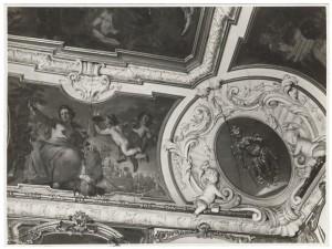 Villa della Regina. Effetti prodotti dal bombardamento dell'incursione aerea del 20-21 novembre 1942. UPA 2202_9B06-36. © Archivio Storico della Città di Torino