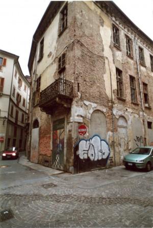 Casa Siccardi, esterno. Fotografia ottobre 2005 © Biblioteche civiche torinesi