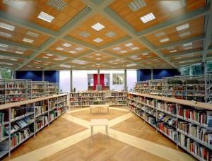 Biblioteca civica in Villa Amoretti
