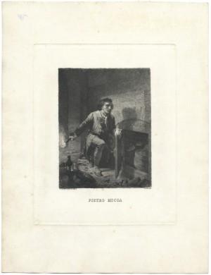 Pietro Micca, litografia. © Archivio Storico della Città di Torino