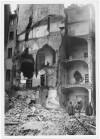 Via Quattro Marzo. Effetti prodotti dai bombardamenti dell'incursione aerea del 30 Novembre 1942. UPA 2411D_9C02-35. © Archivio Storico della Città di Torino