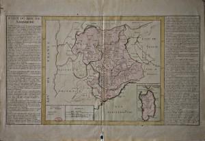 Carta topografica del Regno di Sardegna, dopo il 1735
