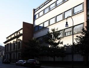 Scuola di Applicazione lato via Confidenza. Fotografia di Caterina Franchini