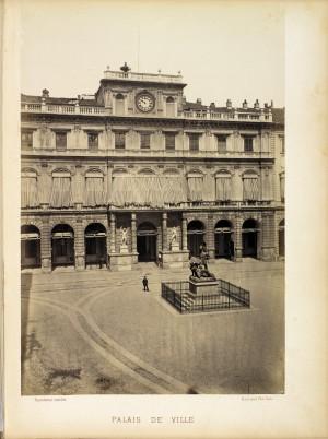 Palazzo di Città. Fotografia di H. Le Lieure, Torino. © Archivio Storico della Città di Torino