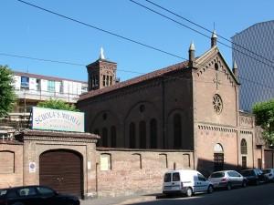 Scuola dell'infanzia e primaria paritaria San Michele e Chiesa di San Michele. Fotografia di Paola Boccalatte, 2013. © MuseoTorino