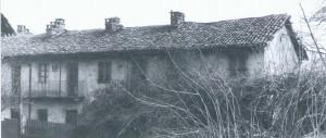 Foto storica della cascina del Rivore. © EUT 6.