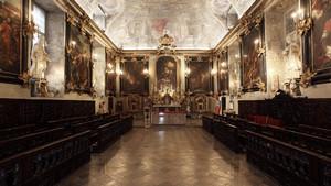 Cappella della Pia Congregazione dei Banchieri e dei Mercanti. Fotografia diPaolo Mussat Sartor e Paolo Pellion di Persano, 2010. © MuseoTorino
