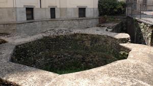 I resti della torre angolare romana presso il santuario della Consolata (2). Fotografia di Plinio Martelli, 2010. © MuseoTorino.