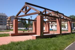 Il nuovo giardino di via Mosso, già cascina Cossilla, 2005. © Città di Torino.