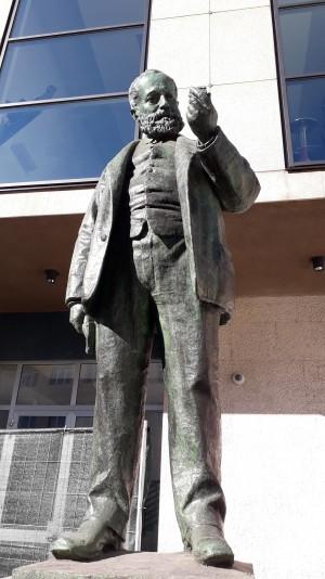 Cesare Reduzzi, Monumento a Quintino Sella, 1893. Fotografia 2020.