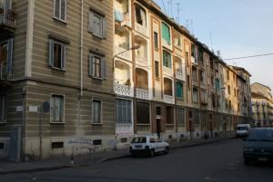 Case Grassi in via Scarlatti, Montanaro, Baltea, Monte Rosa