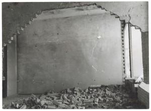 [Corso G.Agnelli] Fiat Mirafiori. Effetti prodotti dai bombardamenti del 4-5 dicembre 1940. UPA 0948D_9A02-09. © Archivio Storico della Città di Torino