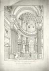 Veduta interna della Basilica di Superga (1824). Biblioteca civica centrale, Cartografico  7/2.46 © Biblioteche civiche torinesi
