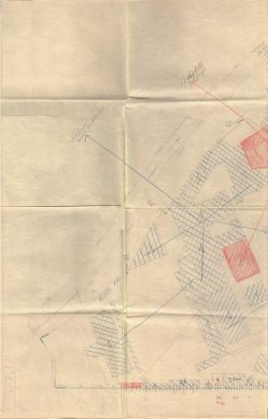 Bombardamenti aerei. Censimento edifici danneggiati o distrutti. ASCT Fondo danni di guerra inv. 960 cart. 19 fasc. 12 prima parte. © Archivio Storico della Città di Torino