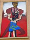 Murale per il MAU Museo d'Arte Urbana, via S. Rocchetto. Fotografia di Alessandro Vivanti, 2011