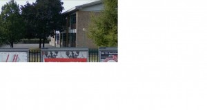 Scuola elementare Sabin. L'edificio visto da via Sempione. © Archivio della scuola