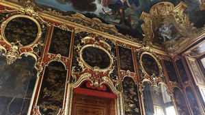 Gabinetto cinese di Palazzo Reale. Fotografia diPaolo Mussat Sartor e Paolo Pellion di Persano, 2010. © MuseoTorino-Soprintendenza per i Beni Architettonici e Paesaggistici del Piemonte.