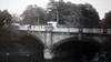 Veduta del Ponte Ramello prima dell'ampliamento del 1966 dove si nota la struttura in muratura ottocentesca oggi inglobata da quella in cemento.(in Angía Sassi Perino, Giorgio Faraggiana, 2002, p. 93).
