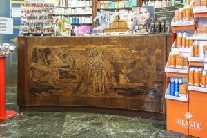 Farmacia Solferino, già San Giuseppe, bancone, 2017 © Archivio Storico della Città di Torino