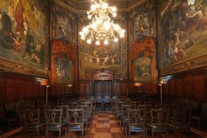 Sala Gonin (già Sala Reale) presso la Stazione ferroviaria di Porta Nuova. Fotografia di Fabrizia Di Rovasenda, 2010. © MuseoTorino