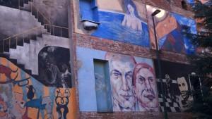 Artisti vari, murale senza titolo, 2011, Parco Dora, via Pianezza