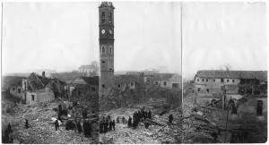 Via Cardinale Massaia 98, Chiesa Madonna di Campagna. Effetti prodotti dai bombardamenti dell'incursione aerea dell' 8-9 dicembre 1942. UPA 2811D_9F02_46. © Archivio Storico della Città di Torino