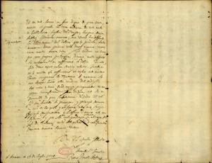 Lettera autografa di Pieter Paul Rubens, luglio 1626, Raccolta di autografi Pior. Biblioteca civica Centrale © Biblioteche civiche torinesi