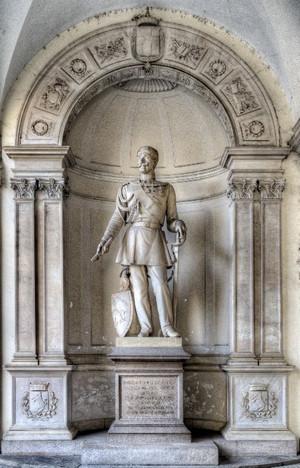 Monumento a Carlo Alberto di Savoia